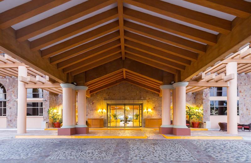 Entrance at Royal Solaris - Los Cabos.
