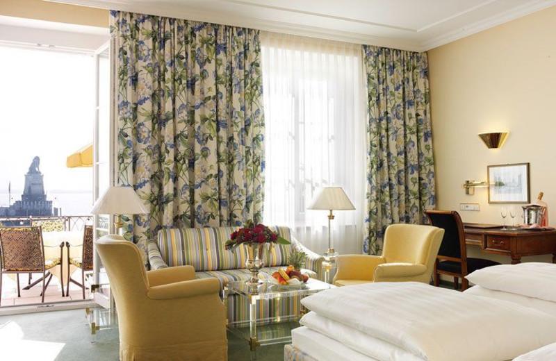 Guest room at Hotel Bayerischer Hof Lindau.