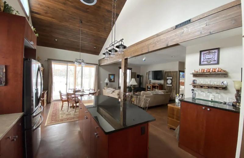 Rental interior at Lakes Area Rentals.