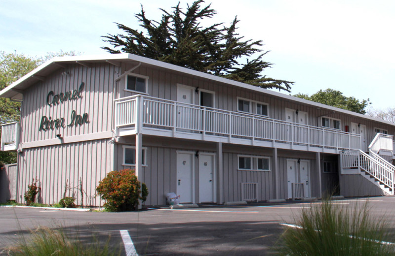 Exterior of Inn at Carmel River Inn.