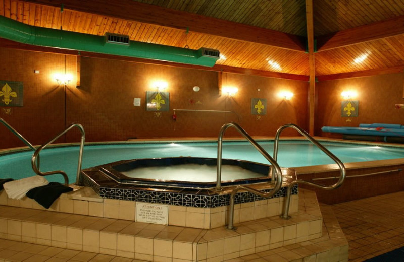 Indoor pool at Fairfield House Hotel.