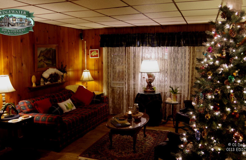 Christmas at Edgewater Inn & Cottages.