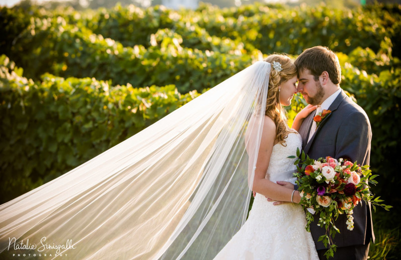 Weddings at Inn at Glenora Wine Cellars.