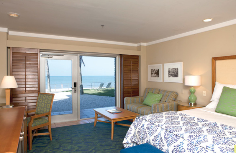 Guest room at The Naples Beach Hotel & Golf Club.