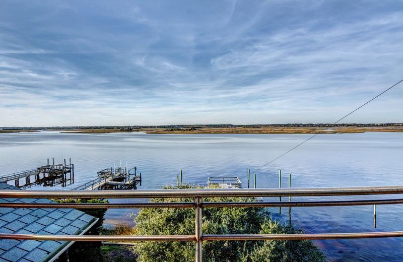 Rental view at Topsail Realty.
