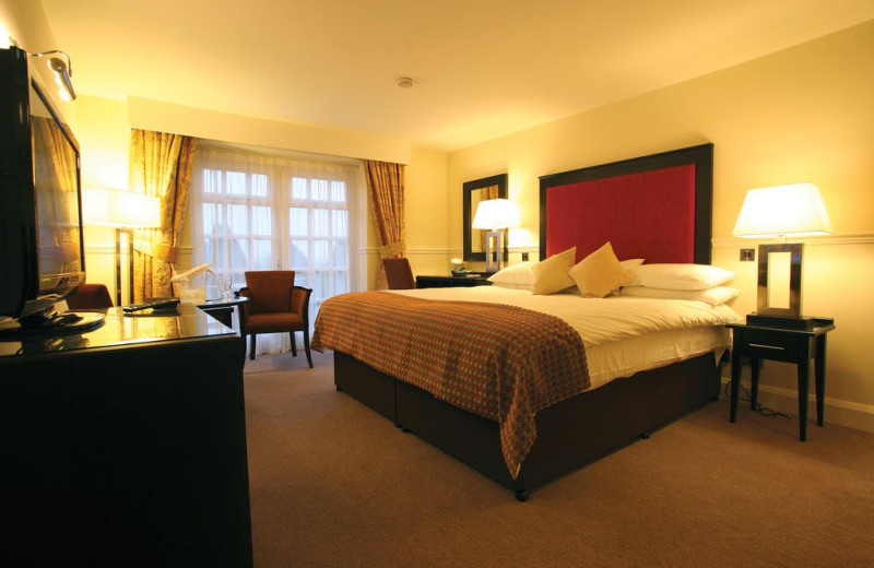 Guest room at Charingworth Manor.