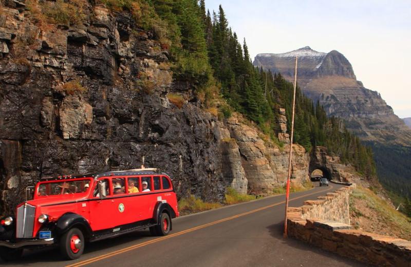 Mountain touring at The Lodge at Whitefish Lake.
