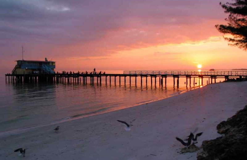 Beach sunset at beachrentals.mobi. LLC.