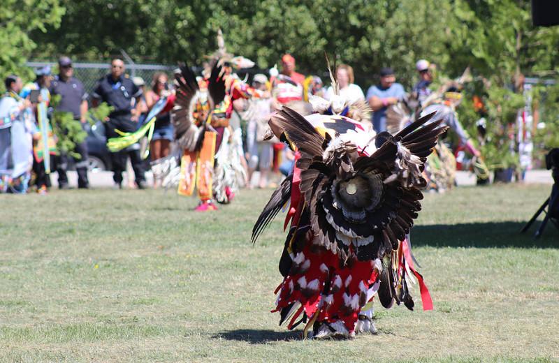 Tribal festival near Black Rock Resort.