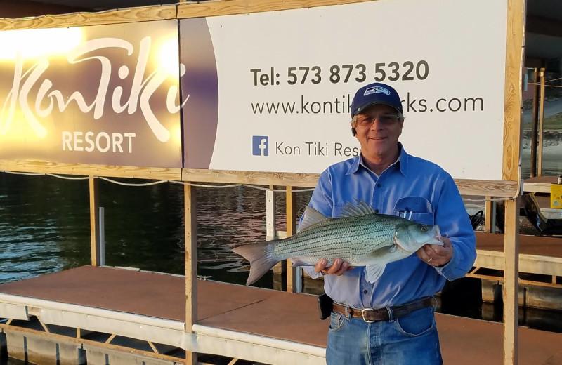 Fishing at Kon Tiki Resort.