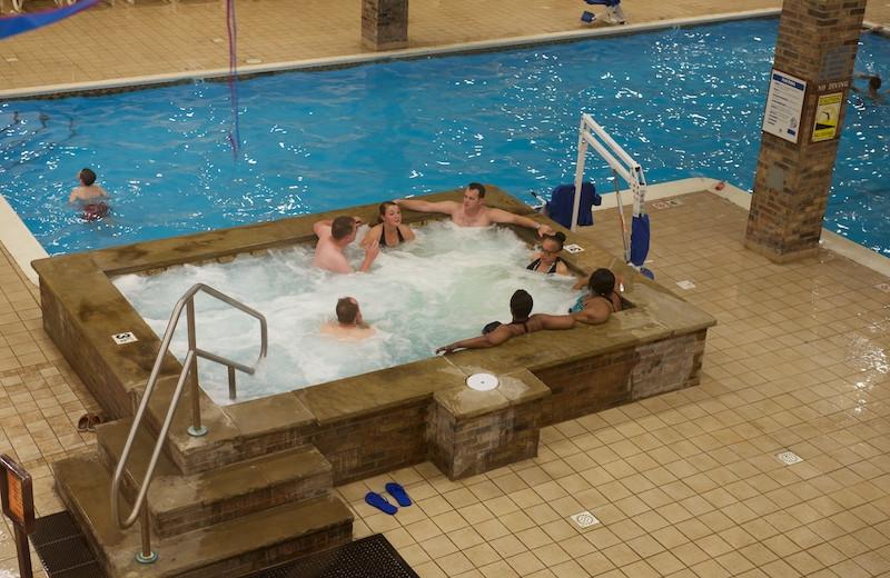 Hot tub at Split Rock Resort & Golf Club.