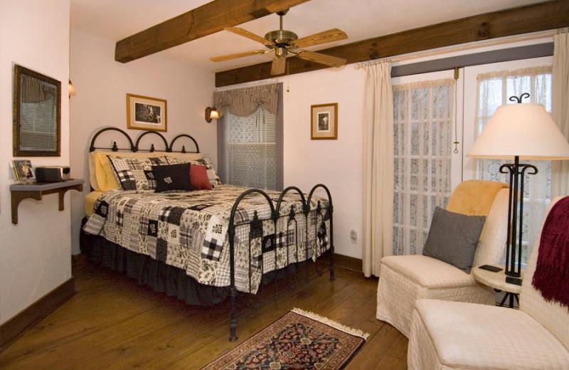 Guest room at Folkestone Inn B&B.