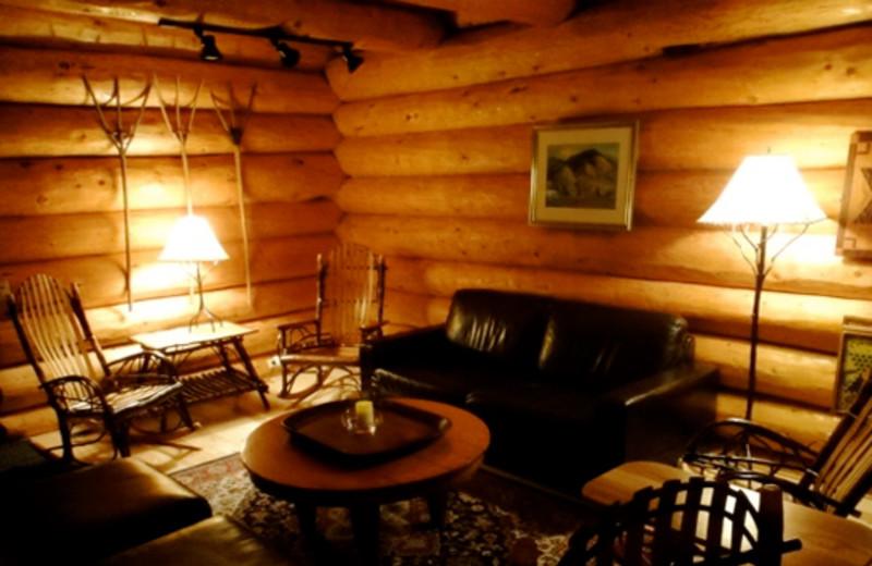 Guest room at Sakura Ridge.
