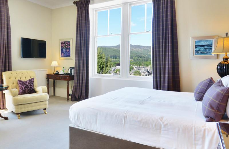 Guest room at Knockendarroch House.