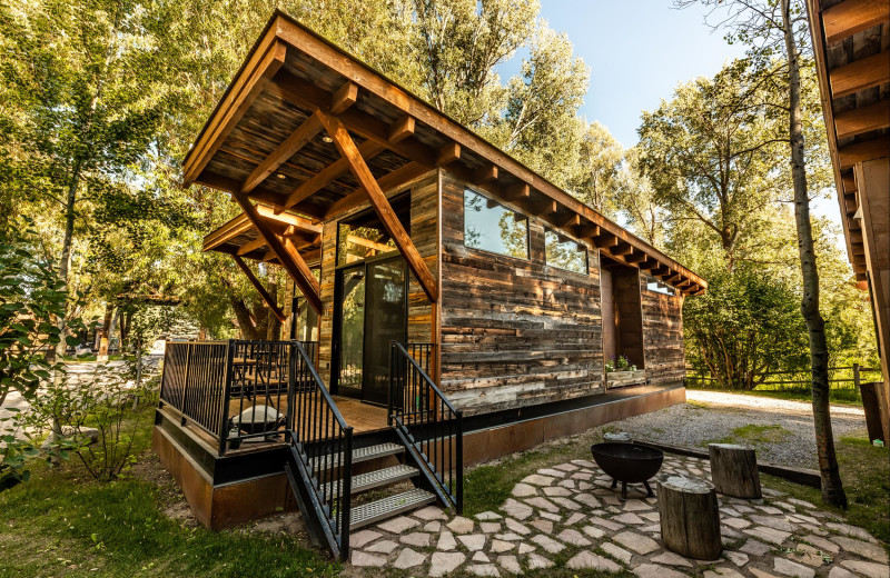 Cabin at Fireside Resort at Jackson Hole.