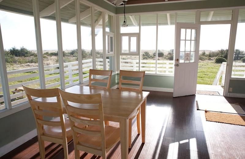 Condo porch at Beachwood Resort Condos.