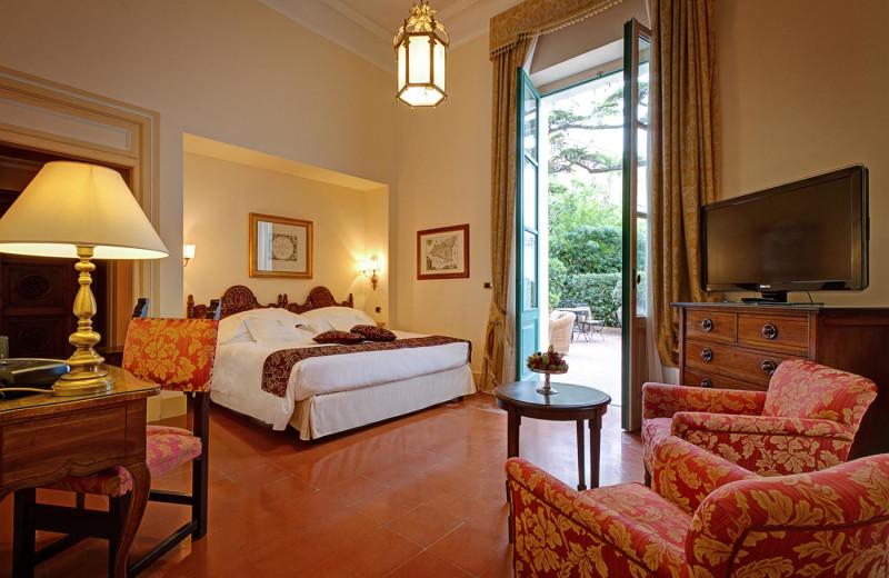 Guest room at San Domenico Palace.