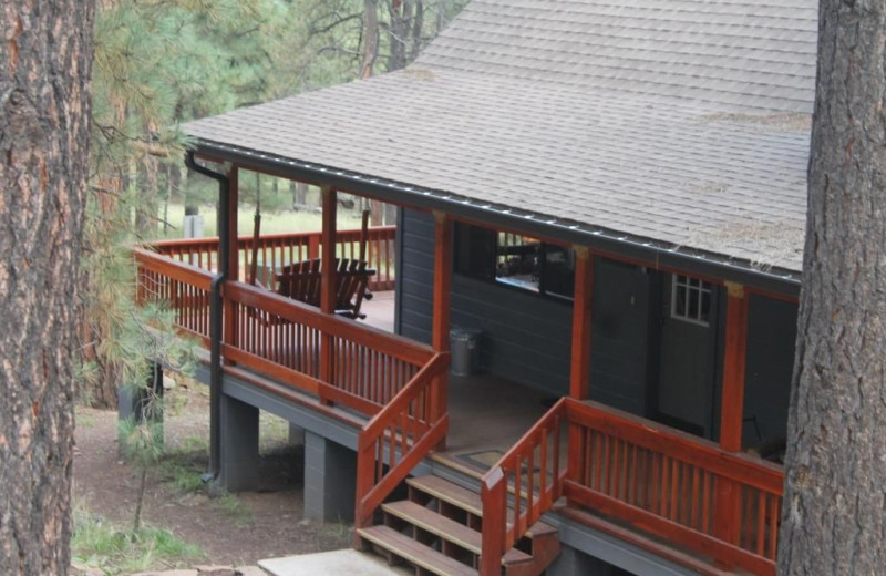 Exterior view of Acorn Lodge.