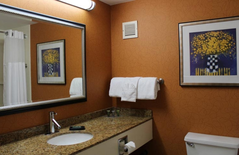 Guest Bathroom at Best Western Plus Fresno Airport Hotel