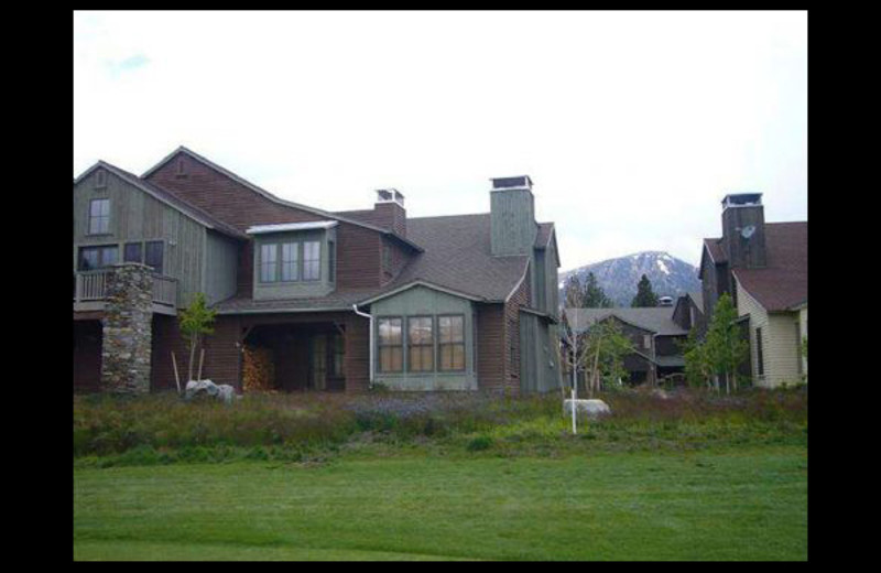 Vacation rental exterior at Mammoth Property Reservations.