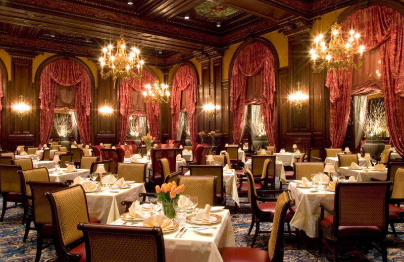 Dining at Hotel DuPont.