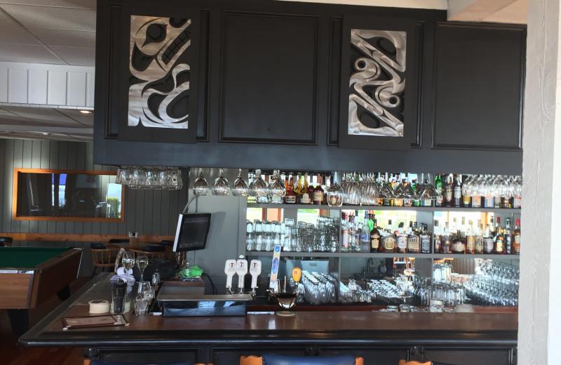 Bar at Historic Lund Hotel.