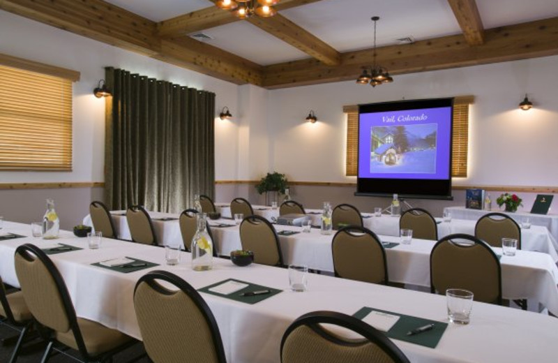 Meeting room at Vail Racquet Club.