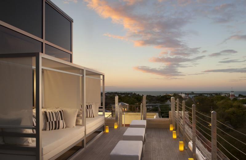 Spa balcony at La Concha Hotel & Spa.