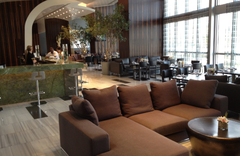 Dining area at Casa Moderna Miami.