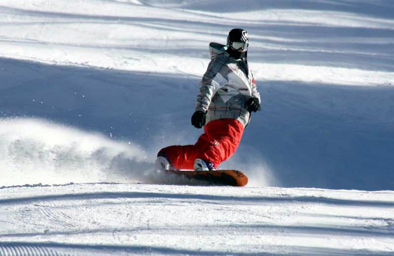 Snowboarding at Wolf Laurel