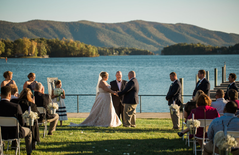 Weddings at Mariners Landing.