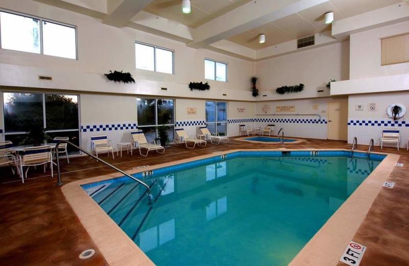 Indoor pool at The Fairfield Inn by Marriott Owensboro.