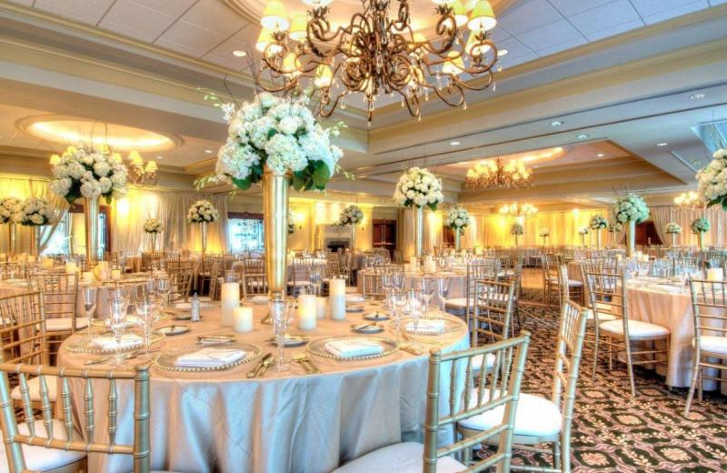 Wedding reception at Turning Stone Resort Casino.