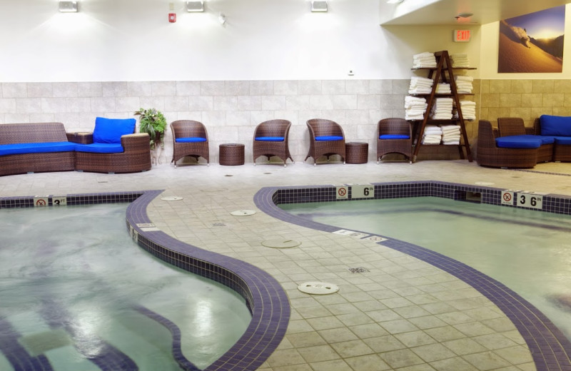 Indoor pool at Solara Resort & Spa.
