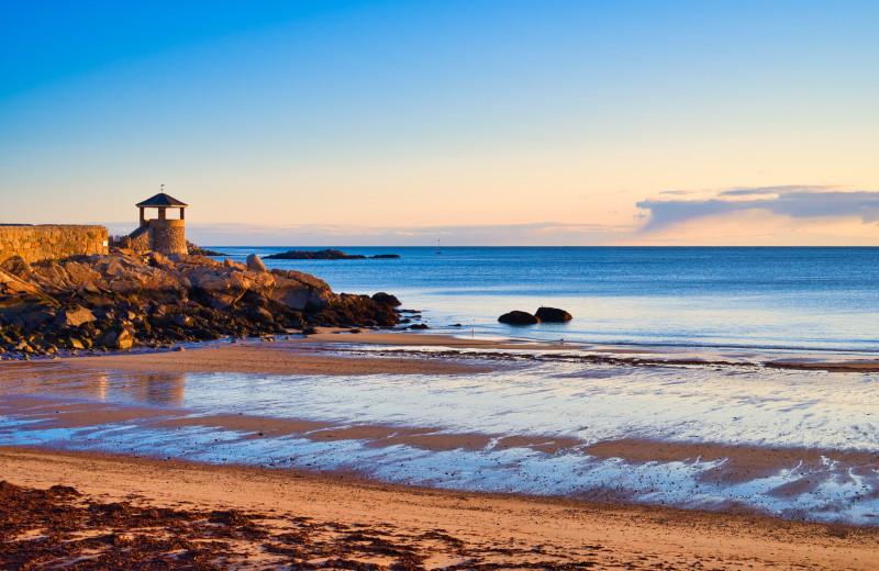 Beach at Addison Choate.