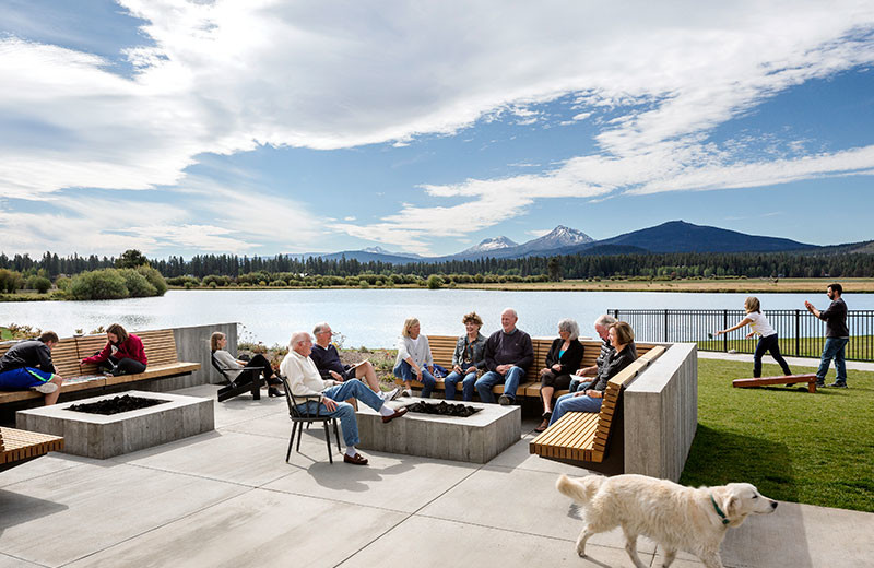 Patio at Black Butte Ranch.