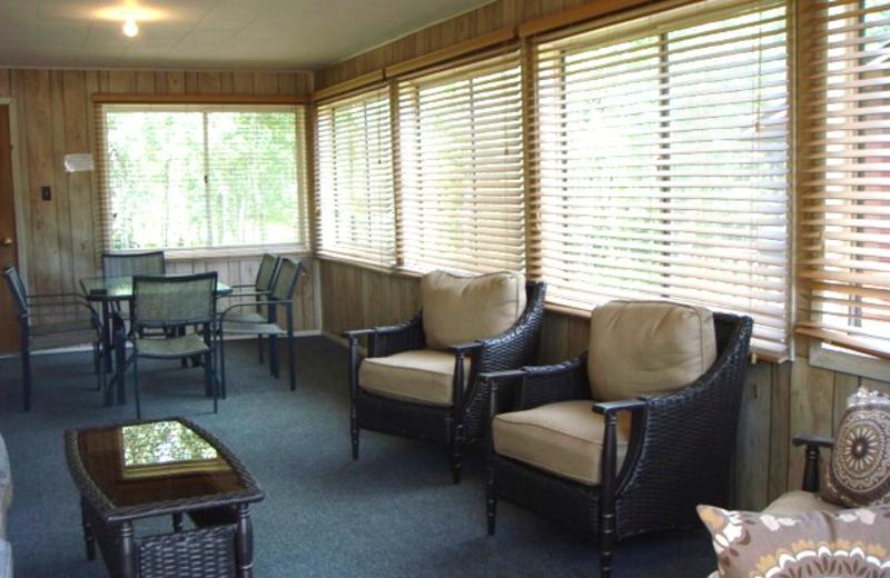 Guest living room at Keystone Resort.