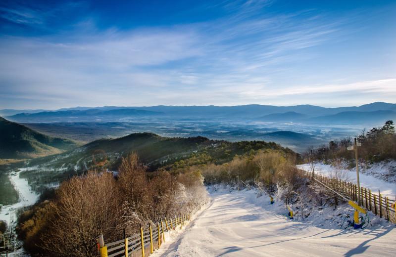 Mountain view at Massanutten Resort.