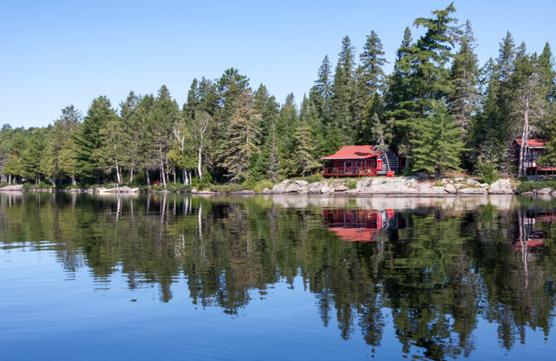 Killarney Lodge is located on the shore of Lake of Two Rivers in the heart of Algonquin Provincial Park.
