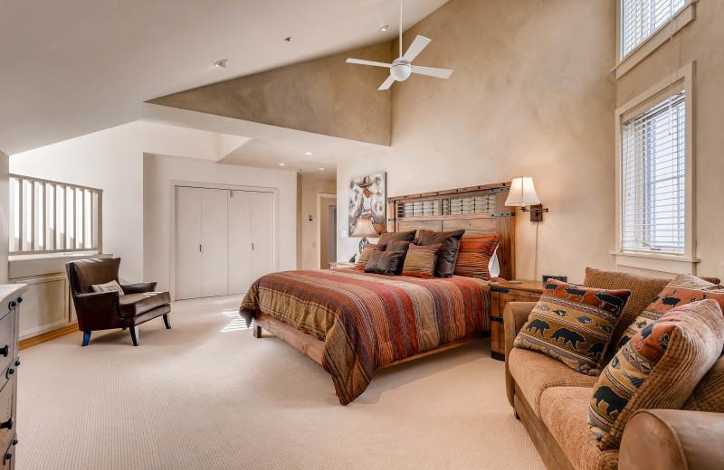 Rental bedroom at Centennial Lodge of Beaver Creek.