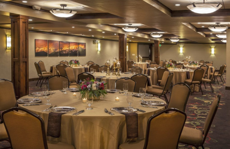 Banquet room at The Charter at Beaver Creek.