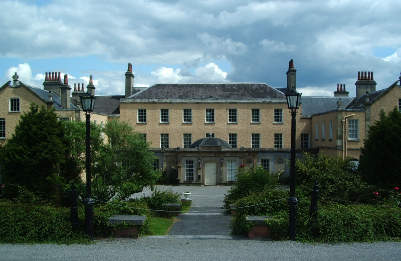 Exterior view of Knocklofty House.