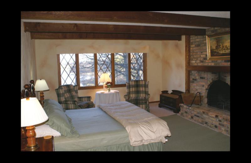 Guest room at Birdwing Spa.