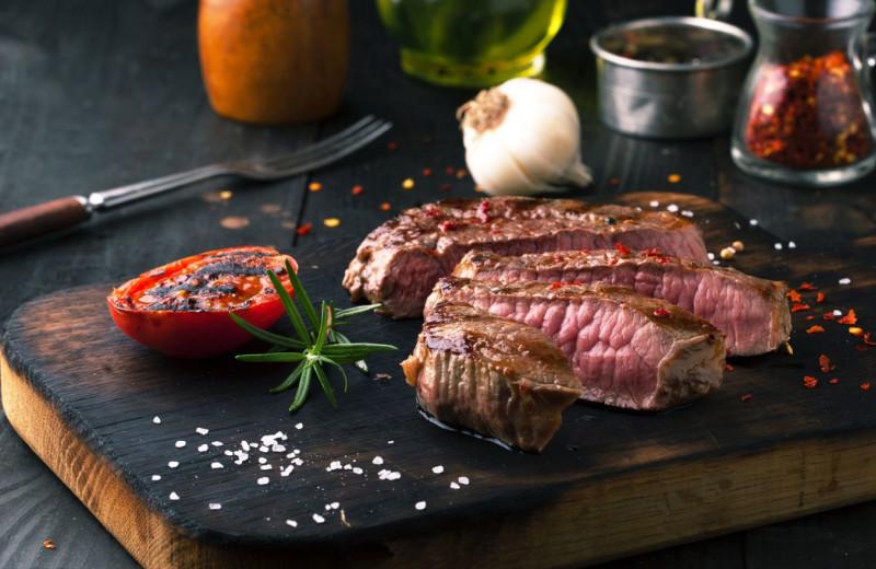 Steak at Del Lago Resort & Casino.