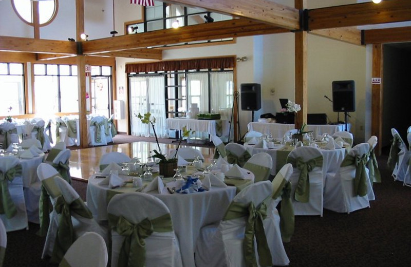 Wedding Reception Location at the Summit Resort.