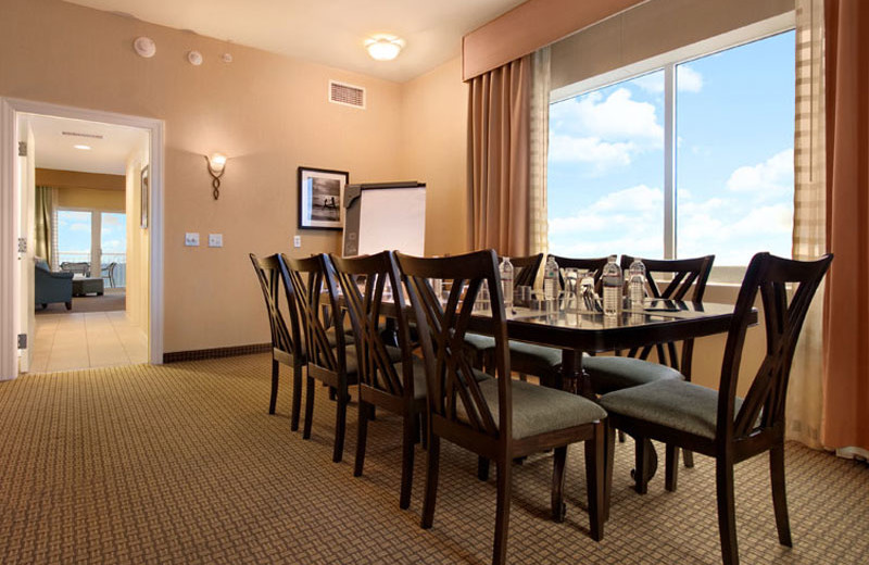 Meeting room at Hilton Suites Ocean City Oceanfront.