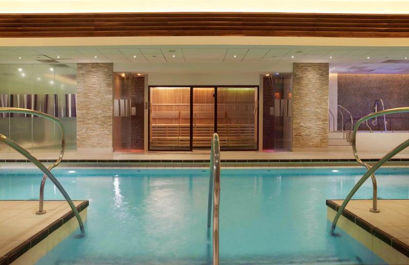 Indoor pool at Landmark London.
