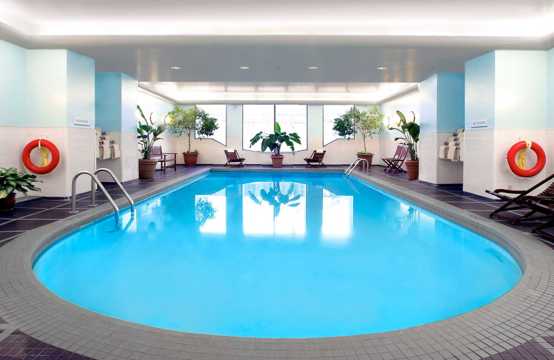 Indoor pool at Novotel Toronto North York.
