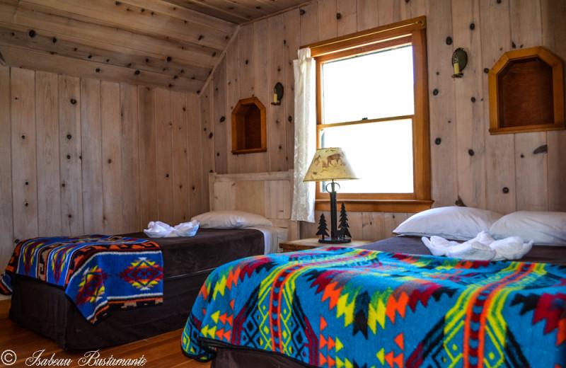 Mansion bedroom at Meeks Bay Resort & Marina.