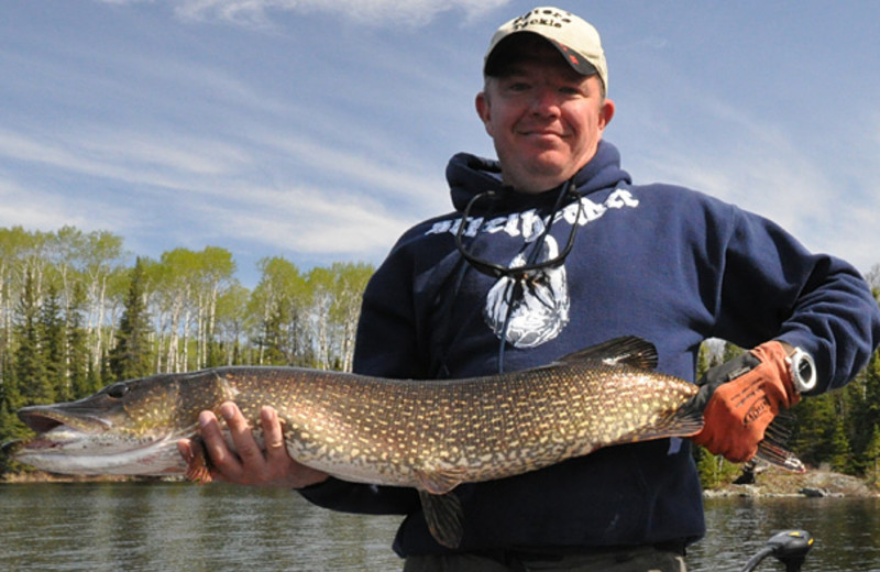 Fishing at Northern Walleye Lodge